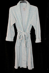 Love to Lounge Ladies Dressing Gown Soft Turquoise Size Small UK 10/ EUR 38/40