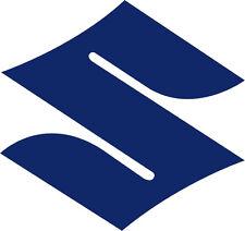 """#226 (2) 2"""" Suzuki Logo Motorcycle Decals Helmet Stickers Reflective Blue"""