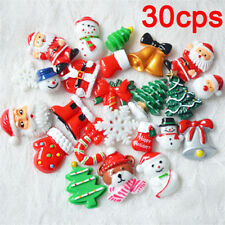 30x/set Resin jewelry accessory For DIY Craft Santa Claus Christmas gifts