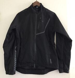 Bontrager Women's Race Rainshell Cycling Jacket Size S Black/gray 9220