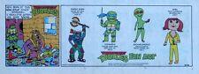 Teenage Mutant Ninja Turtles - full color Sunday comic page - December 26, 1993
