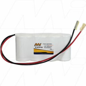 4.8V 4Ah Replacement Battery Compatible with White Lite Emergency Lighting BSA