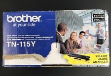 BROTHER TN-115Y HIGH YIELD Yellow Toner Cartridge - NEW  B11