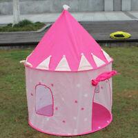 Bambini Tenda da Gioco a Forma di Castello Tende Giocattolo - 105 x 105 x