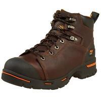 "Timberland Pro Endurance 6"" Steel Toe 52562 Work Boots Briar Full Grain Brown"