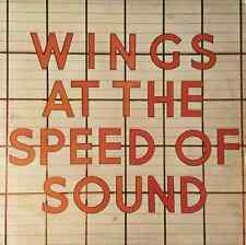 WINGS - Wings At The Speed Of Sound (LP) (EX/VG)