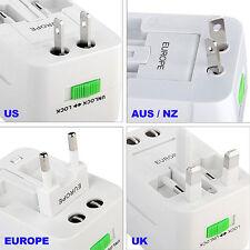 Universal Au/Uk/Us/Eu/Jp Travel Ac Power Charger Adapter Plug Converter