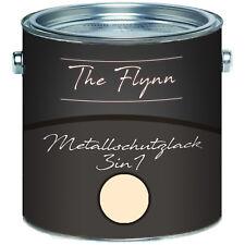 The Flynn Metallschutzlack 3-in-1 Hellelfenbein RAL 1015 2,5L 5L 10L TOP! Beige