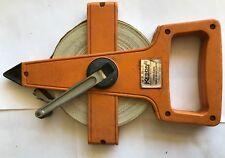New listing Keson 100ft Fiberglass Measuring Tape Reel Otr-10-100