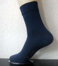 3 Pairs Sorbtek Bamboo Socks Without Elastic Extra Soft Rim Blue 39 to 42