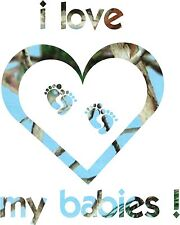 Camo Heart , Will do your family , message me , color of heart and babies Decal