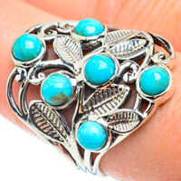 Tibetan Turquoise 925 Sterling Silver Ring Size 9 Ana Co Jewelry R52271F