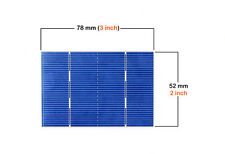 50pcs Solar Cell Battery Silicon for DIY Poly mini Solar Panel  0.5V 1.46A 78x52