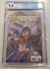 Champions #1 1:100 Ross Variant CGC 9.8 Ms. Marvel Kamala Miles Morales Nova