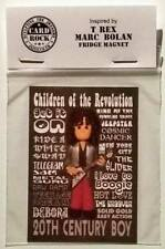 Inspired by Marc Bolan T Rex Fridge Magnet Father's Day