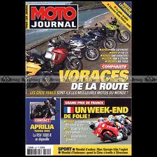 MOTO JOURNAL 1521 ETV CAPONORD APRILIA RSV 1000 TUONO SUZUKI DL V-STROM 2002