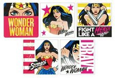 15 Dc Comics Wonder Woman Stickers Kid Party Goody Loot Bag Filler Favor Supply