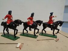 Authenticast Eire SAE HE lot of 3 1890's Indian Army Lancers 54mm lead soldiers