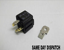 4 Pin Relais Marque/Break 12 V 30Amp aux lumières Horn Amovible Support (IN-1)