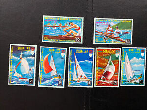 Equatorial Guinea-1972 Winter Olympic Games Munich Germany Full set-MNH