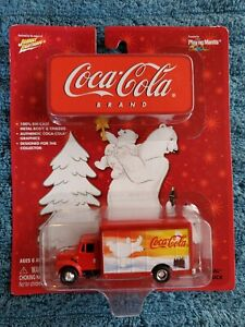 Johnny Lightning International Beverage Truck Coca-Cola NIB! 2003