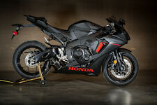 M4 Exhaust Honda CBR1000RR 2017 Street Slayer slip on system with Carbon muffler