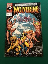 Special Worldwide. Wolverine: In Global Jeoparady Issue #1 Dec. 93