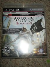 Assassin's Creed IV Black Flag  (Sony Playstation 3, 2013) 4 PS3 Complete