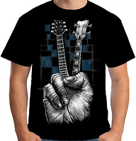 Velocitee Mens Don't Fret T Shirt Music Rock Band Guitar Festival A15431