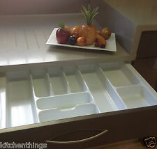 CUTLERY TRAY INSERT (CT-8) - UTENSIL / DRAWER ORGANISER for 685 -735mm(w) drawer