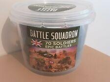 Escuadrón de batalla batallas épicas 70 soldados británicos de plástico