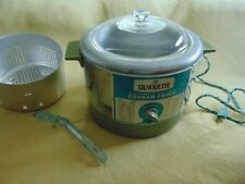 Vintage Silhouette Automatic Electric Cooker Deep Fryer 42-3007