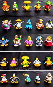 25 Disney Club Penguin Figures  Collection Jakks Pacific Disney