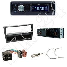 Caliber RMD021 Autoradio + Opel Astra G/Corsa Blende schwarz + ISO Adapter + Set