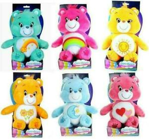 "CARE BEARS 12"" Plush Teddy - Funshine, Friend, Cheer, Love-a-lot, Wish, Bedtime"