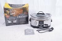 Crock-Pot SCCPBPP605-05 Schongarer 5,7L Multikocher Slow Cooker Timer