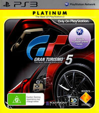 Gran Turismo 5 PLATINUM Sony PlayStation 3 PS PS3 GT GT5