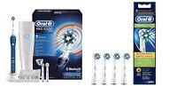 Braun Oral-B Pro 5000 CrossAction Electric Toothbrush Bluetooth + EB50-4 Heads