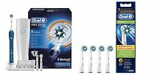 Oral-B PRO 5000 CrossAction elektrische Zahnbürste Bluetooth + eb50-4 Köpfe