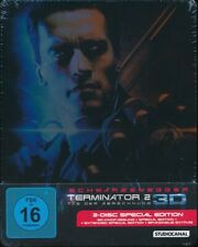 Terminator 2 - Tag der Abrechnung 3D - Steelbook (Blu-ray) Neu