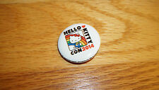 Hello Kitty 40th Anniversary Collectible Pin 2014 Convention Con Style 1