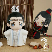 Grandmaster of Demonic Cultivation The Untamed Wangji Wuxian Plush Doll Toys 陈情令