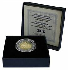 "2016 Greece 2 Euro Proof Coin ""Torching of Arkadi Monastery 150 Years"" Cert #302"
