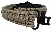 Gun Sling Digital Camo 550 Paracord Rifle Shotgun Crossbow Adjustable Swivels