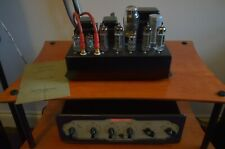 Tube Saville Double Twelve Stereo Amplifier and Saville 12P Stereo Control Unit