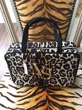 NEW VICTORIA'S SECRET LEOPARD ANIMAL PRINT MAKE-UP TOILETRY WASH BAG