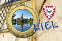 Kiel Schleswig Holstein Germany Foto Magnet Reise Souvenir,Neu .