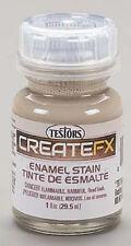 Testors CreateFX Enamel Stain WET EFFECT 1oz Model and Hobby Paint BG