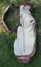 OGIO Golf Retro Carry Bag travel cover and luggage case beige + Tan