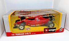 Burago 124 6101 FERRARI 6412 J. Alesi #27 Formule 1 Neuf dans sa boîte
